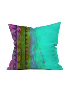 Teal to Purple pillow (image from pinterest)