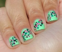 31 Day Nail Art Challenge (September 2017 - #31DC2017) Confetti Style Polka Dot Dotticure