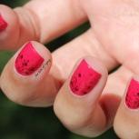 31 Day Nail Art Challenge (September 2017-#31DC2017) Pink Glitter Gradient Nail Art