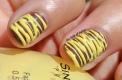 31 Day Nail Art Challenge (September 2017 - #31DC2017) Sugar-Spun Stripes Nail Art