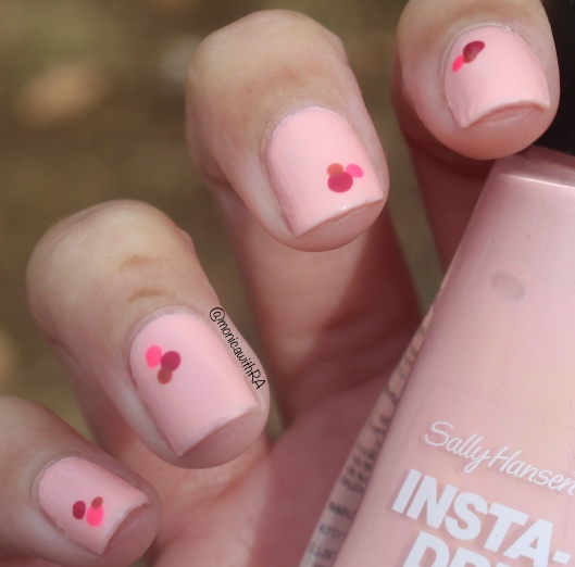 Easy, Arthritis-Friendly Valentine's Day Pink Nails ft. Sally Hansen and OPI