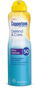 Best Sunscreens of 2018 | the Rite of Aging Early (Coppertone Defend & Care)