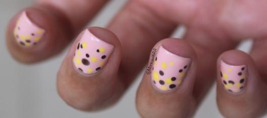 31 Day Nail Art Challenge #31DC2018 - Pastel Polka Dots Dotticure ft. Sally Hansen and Zoya Polishes