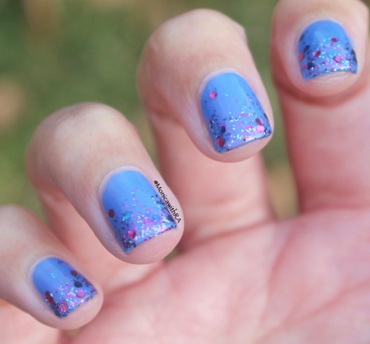 Arthritis-Friendly and Glitter-y New Year Festive Nail Art Look ft. Zoya, OPI and SinfulColors