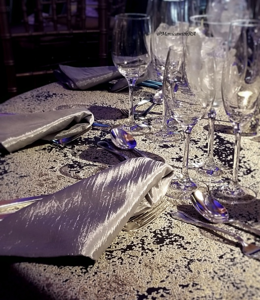 Photo of Silver Linen Tableware
