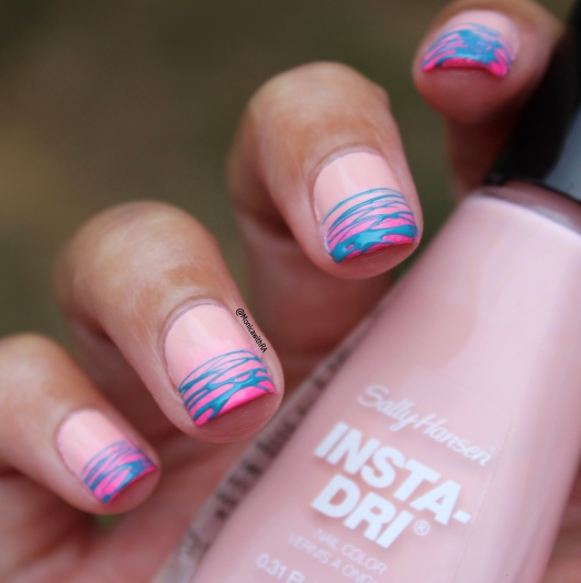 Born Pretty Store Turquoise Spider Gel Sugar Spin Nail Art Review